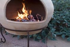 Here's how to easily and affordably Repair a Chiminea or outdoor fireplace