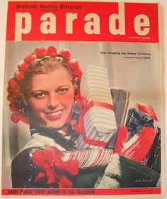 1944 PARADE magazine~CHRISTMAS~National Velvet~DOROTHY MANN~Since You Went Away