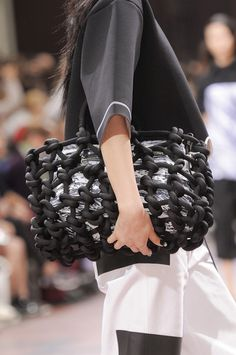 bags @ Kenzo Spring 2014