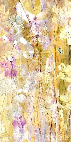 Malerei, Acryl, Blumen,Leinwanddruck,Kunst,Blumenbild