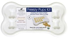 Make frozen dog treats. Pet Shopping Blog for Modern Pet Owners - CoolPetProducts.com