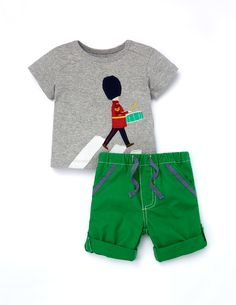 Guard T-shirt and Trouser 76036 Play Sets at Boden