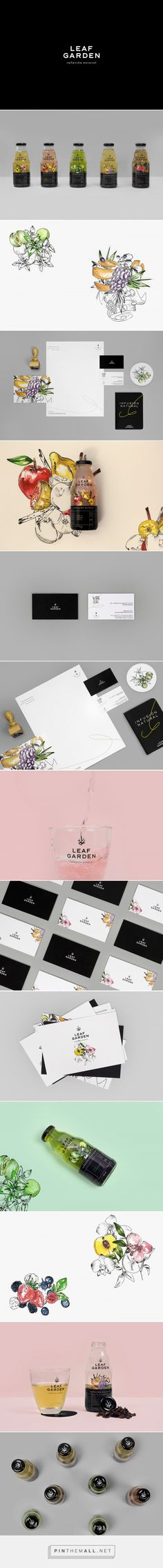 Leaf Garden Natural Drink Branding and Packaging by Bienal Communicacion | Fivestar Branding Agency – Design and Branding Agency & Curated Inspiration Gallery