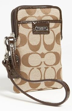 COACH  Signature  Universal Phone Case available at  Nordstrom Coach Outlet  Store 489ec75704b01
