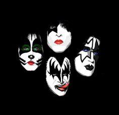 Bildergebnis für The Kiss band El Rock And Roll, Rock And Roll Bands, The Rock, Kiss Rock, Banda Kiss, Gene Simmons Kiss, Monster Photos, Crazy Night, Kiss Band