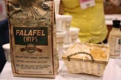 Snack Favorite! #snack #food #health #flamous #falafel #chip @Udi's Gluten Free Foods @Everyday Health @The Kitchn @Vegetarian Times @The Vegan Woman