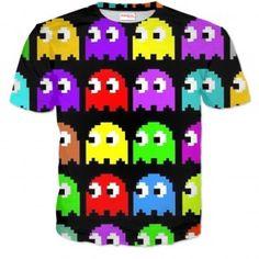 PACMAN Koszulka Tshirt Full Print