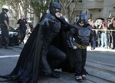 Batman & Batkid Saves San Francisco From Certain Doom! You have to see this.. #spon #hero