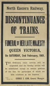 Victoria dies and is succeeded by Edward VII (1901)