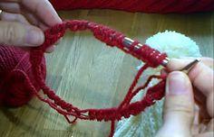 Jak robić na drutach na żyłce