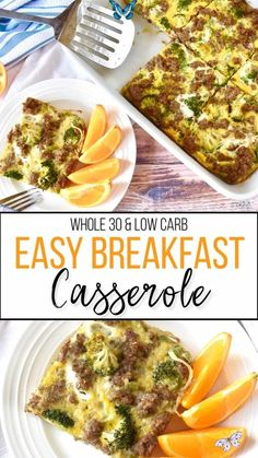 Easy Whole30 Breakfast Casserole - Beauty and the Bench Press Easy Whole30 Breakfast Casserole - Beauty and the Bench Press<br> Recetas Whole30, Whole30 Recipes, Oven Recipes, Chili Recipes, Recipes Dinner, Whole 30 Breakfast Casserole, Detox Breakfast, Overnight Breakfast, Pie Cake