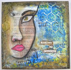 Margot & Fiona: AUTORRETRATO Talent Show, Mixed Media, Painting, Art, Jewelry Drawing, Art Background, Painting Art, Kunst, Paintings