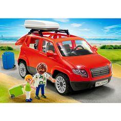 Playmobil 5436 : Voiture avec coffre de toit - Playmobil-5436