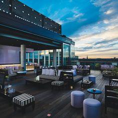 Roof Lounge park hyatt hotel