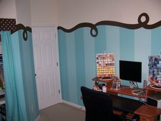 I like this too, older girls' room