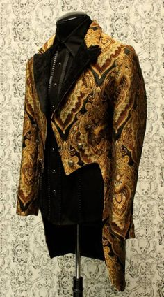 Gothic Steampunk Clothing Men | STEAMPUNK CARNIVAL TAILCOAT