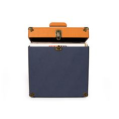Crosley | Record Carrying Case - Navy #crosley #accessories #carryingcase #vinyl