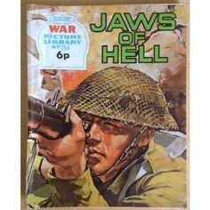 War Comic Picture Library Book #754 Action Adventure Fleetway