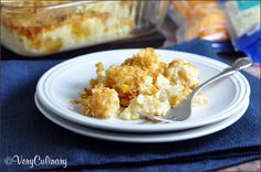 Cheesy Potato Casserole (a.ka. Funeral Potatoes) #casserole #potatoes