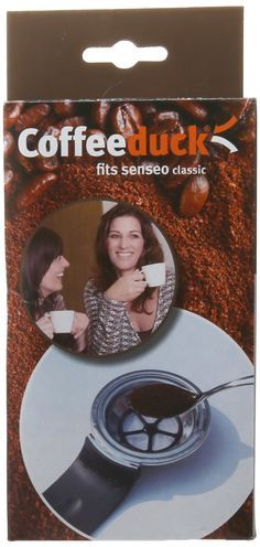Coffeeduck Classic: Permanent Refillable Coffee Filter for the Senseo models HD7810-HD7812 ** To view further for this item, visit the image link.