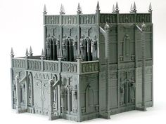 build plans for basilica administratum - Google Search