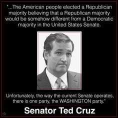 #TedCruz2016 (PLEASE SHARE) Join the fight to break the #WashingtonCartel www.tedcruz.org