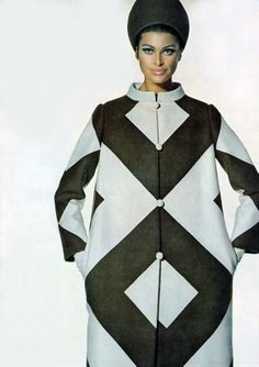 Editha Dussler by Penn Vogue 1967