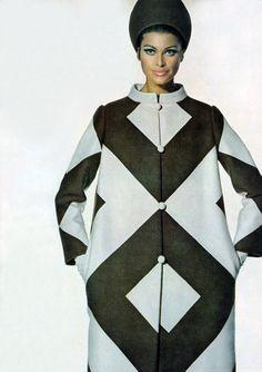 Editha Dussler by Penn Vogue 1967