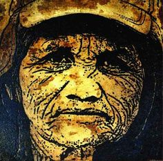 These Beautiful Portraits Are Made Out Of Used Coffee Grounds