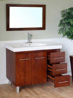 Integrated Sink Bathroom Vanities Inspired By Design