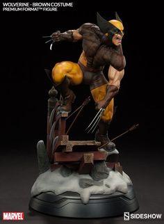 Marvel Wolverine - Brown Costume Premium Format(TM) Figure | Sideshow Collectibles