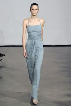See the complete Halston Fall 2008 Ready-to-Wear collection.