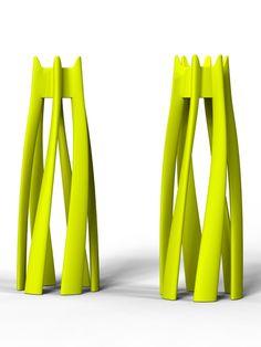 Dango coat hanger 21st LIVINGART design Italo Pertichini