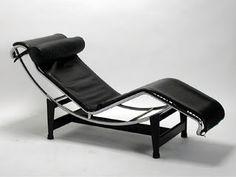 Sillas de Arquitectos Le Corbusier - Chaise Longue LC4 (1928)