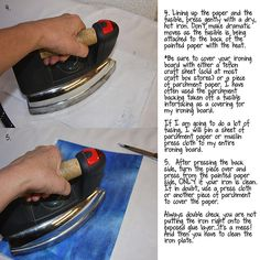 Lesson 2: Using Fusible Interfacings to Attach and Glue Papers and Fabrics Published September 4, 2013 | By RainK