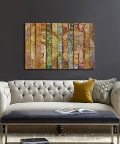 Look at this Around the World in Thirteen Maps Wrapped Canvas on #zulily today!