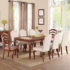 found it at wayfair flavien ii 9 piece dining set - Wayfair Dining Chairs