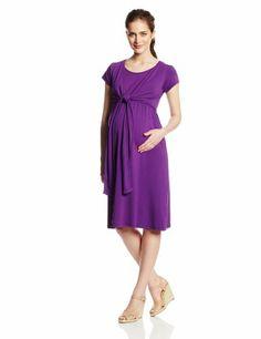 Modest maternity/ nursing dress