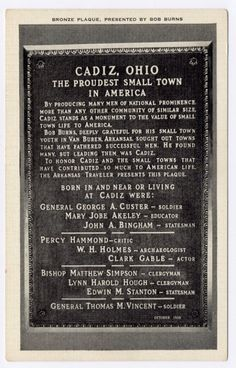 pictures of Cadiz,OH - Yahoo Search Results Cadiz Ohio, Bob Burns, Creepy Vintage, Small Towns, Yahoo Search, Genealogy, Photos, Pictures, Party Ideas