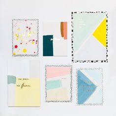 Handpainted Letterpress Cards, ©sabaipaper.com Paper Goods, Letterpress, Stationery, Hand Painted, Cards, How To Make, Stationery Shop, Letterpress Printing, Paper Mill