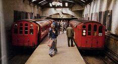 Glasgow Subway, Scotland, Trains, Train