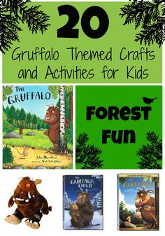 GRUFFALO AND FOREST THEMED CRAFTS AND ACTIVITIES FOR KIDS