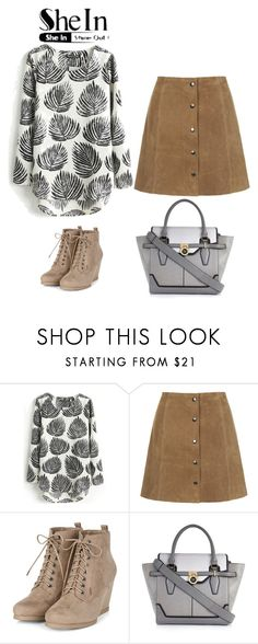 """Contras"" by puspatoetoe ❤ liked on Polyvore featuring Topshop and River Island"