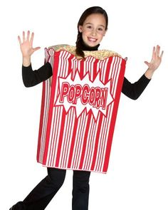 Rasta Imposta Movie Night Popcorn Childrens Costume 710 Red * Want additional info? Click on the image.