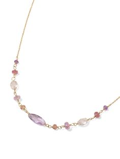 H.P.FRANCE BIJOUX|SWEET PEA ネックレス
