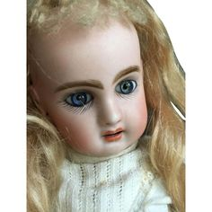 Little open mouth Bebe Jumeau size 2 from antiquedolls6395 on Ruby Lane