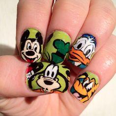 Disney Nails from Naileddaily.blogspot.com
