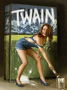 Kalendarz 2012 - Mark Twain  Pin it - Pin up
