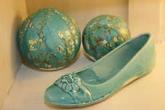 Zapato de cerámica!!