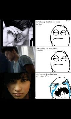 I like Bruno too!! But demi... omg demi :'(
